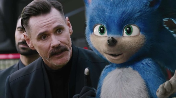Jim Carey Sonic The Hedgehog